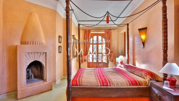 Maison à vendre Marocain de prestige Maison d'hôtes Marrakech Palmeraie
