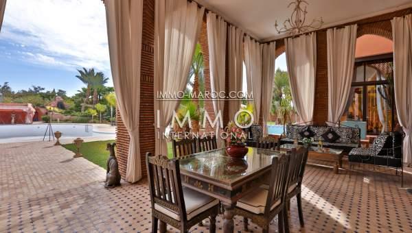 Maison à vendre Marocain Maison d'hôtes Marrakech Palmeraie