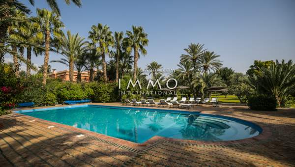 villa vente Marocain Marrakech