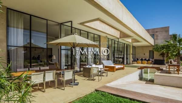 Achat villa Moderne luxe Marrakech Extérieur Route Amizmiz