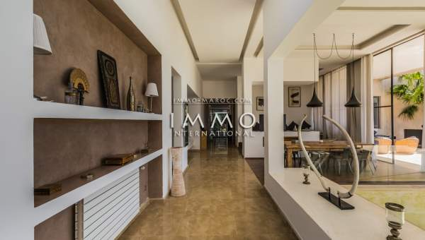 villa achat Contemporain luxe Marrakech Extérieur Route Amizmiz