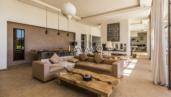 villa vente Moderne propriete luxe marrakech à vendre Marrakech Extérieur Route Amizmiz