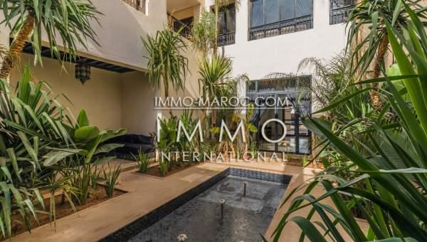 acheter maison Marocain épuré biens de prestige Marrakech Palmeraie Bab Atlas