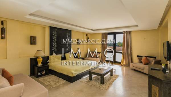 villa achat Marocain épuré propriete luxe marrakech à vendre Marrakech Palmeraie Bab Atlas