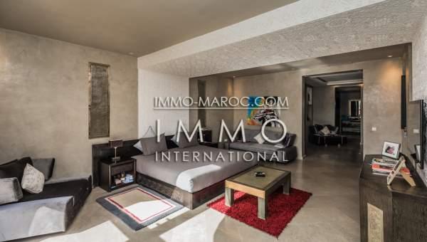Villa à vendre Marocain épuré prestige a vendre Marrakech Palmeraie Bab Atlas