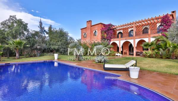 Achat villa Marocain Marrakech Extérieur