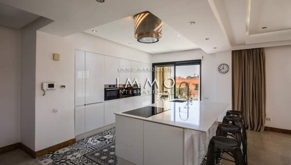 acheter appartement Contemporain prestige Marrakech Hivernage