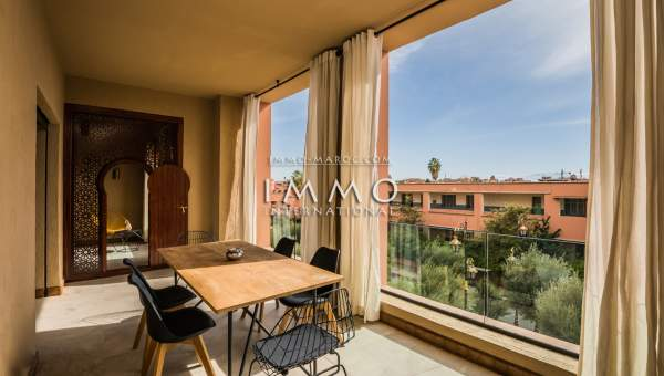 Vente appartement Contemporain luxe Marrakech Hivernage