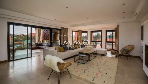 Vente appartement Moderne prestige a vendre Marrakech Hivernage