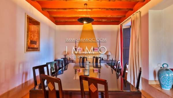 Vente villa Marocain épuré Prestige Marrakech Palmeraie