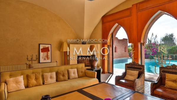 Achat villa Marocain luxueuses Marrakech Golfs Amelkis