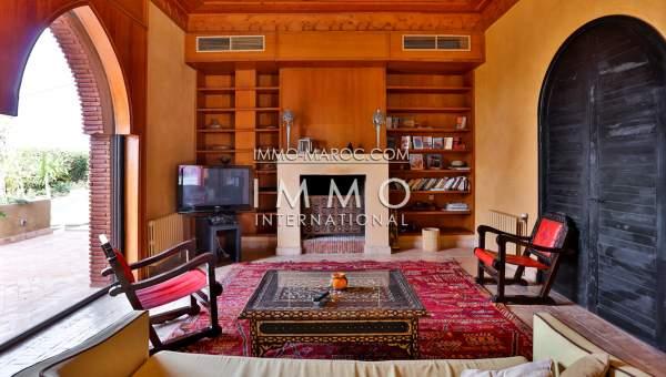 Vente maison Marocain haut de gamme Marrakech Golfs Amelkis