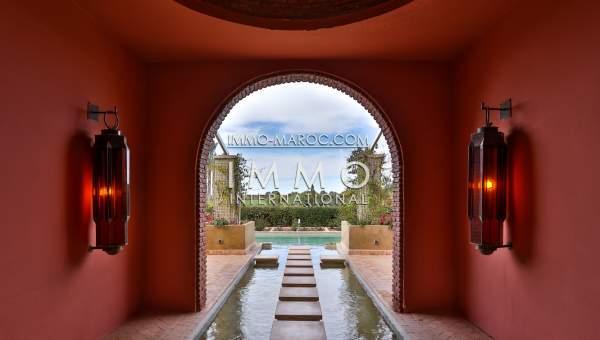 Maison à vendre Marocain Marrakech Golfs Amelkis