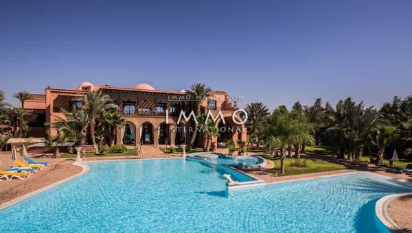Vente villa Marocain de prestige Marrakech Palmeraie Circuit Palmeraie