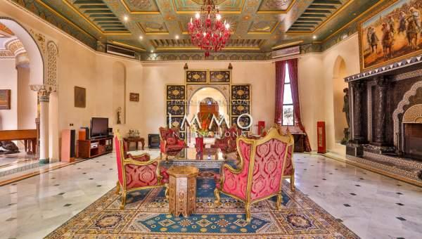 Achat villa Marocain Prestige Marrakech Palmeraie Circuit Palmeraie