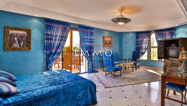 Maison à vendre Marocain luxe Marrakech Palmeraie Circuit Palmeraie