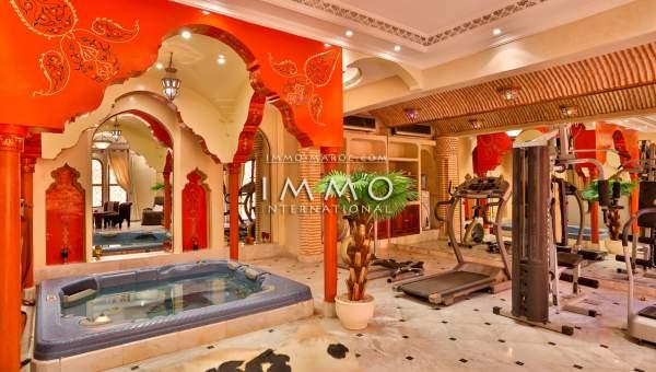 Achat villa Marocain luxe Marrakech Palmeraie Circuit Palmeraie