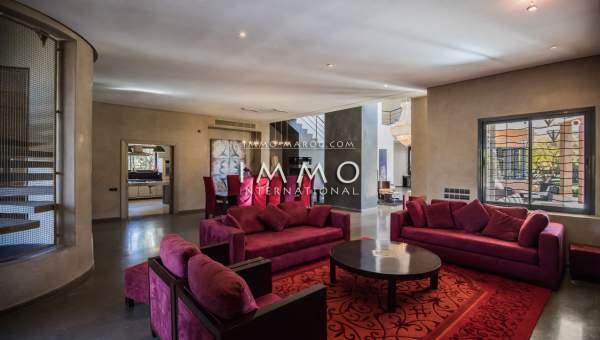 villa achat Contemporain Marrakech Extérieur Route Fes