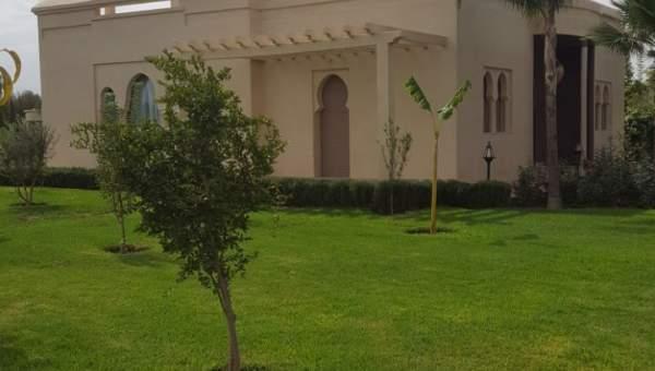 acheter maison Marocain épuré Marrakech Extérieur Route Sidi Abdellah Ghiat