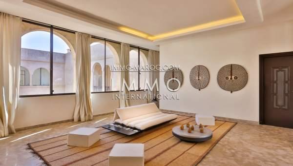 acheter maison Marocain prestige a vendre Marrakech Palmeraie