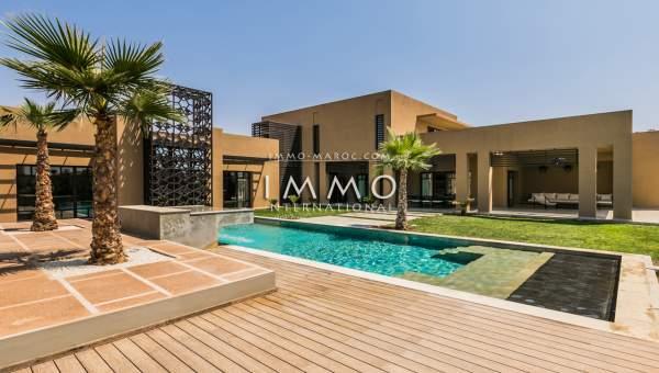 Parfait Villa A Vendre Contemporaine Amelkis Marrakech