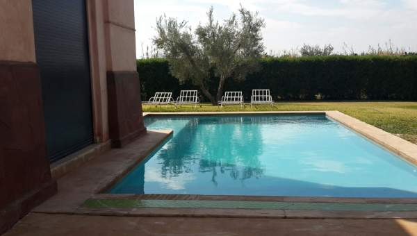 villa achat Contemporain prestige Marrakech Extérieur Route Fes