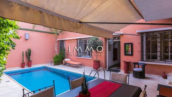 villa vente Marocain épuré Marrakech