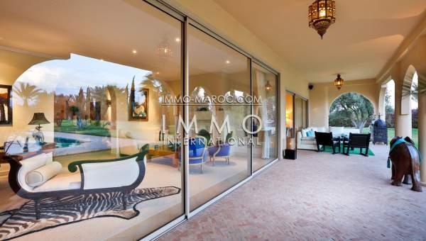 Maison à vendre Marocain épuré biens de prestige Marrakech Extérieur Route Amizmiz