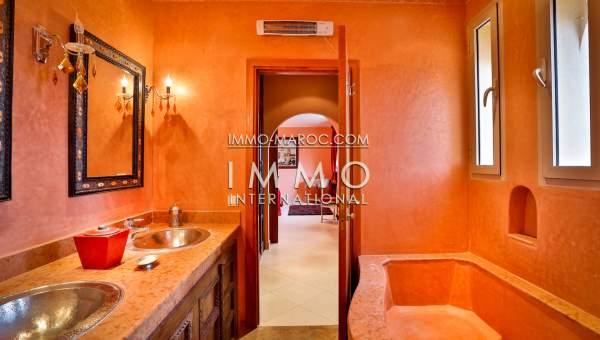 Achat villa Marocain épuré agence immobiliere de luxe marrakech Marrakech Extérieur Route Amizmiz