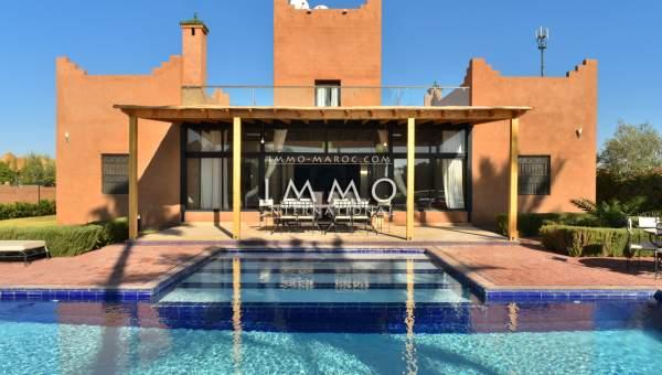 Vente villa Marocain épuré Marrakech Extérieur