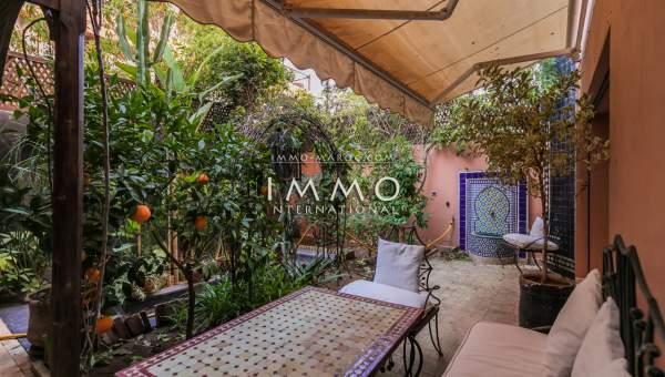 acheter appartement Marocain épuré Marrakech Hivernage