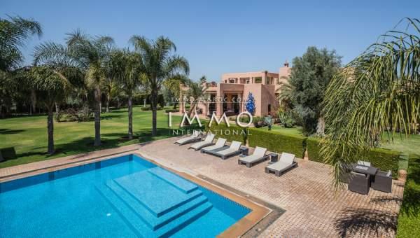 villa achat Moderne Marrakech Extérieur Route Sidi Abdellah Ghiat