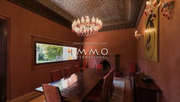 Villa à vendre Moderne Marrakech Extérieur Route Sidi Abdellah Ghiat