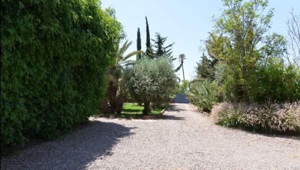 Vente villa Marocain épuré Marrakech Extérieur Route Fes