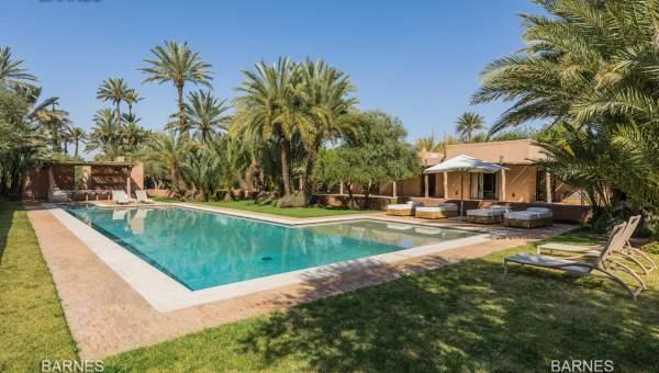 Vente maison Moderne biens de prestige Marrakech Palmeraie