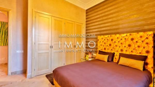 Vente appartement Marocain épuré Marrakech Golfs
