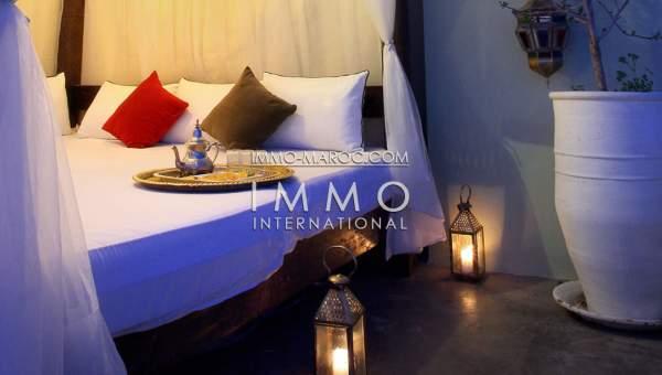 achat riad Marocain épuré Maison d'hôtes Marrakech Place Jamaa El Fna Dabachi