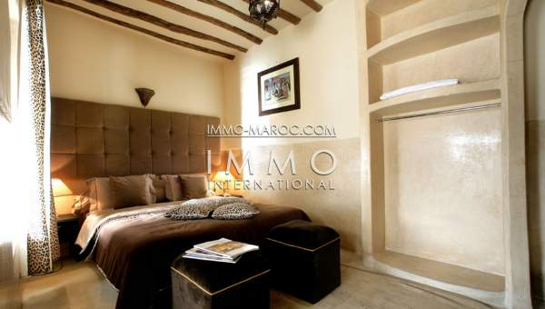 Riad à vendre Marocain épuré Maison d'hôtes Marrakech Place Jamaa El Fna Dabachi