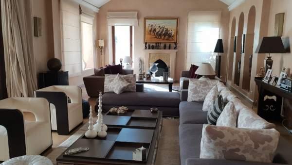 Maison à louer Marocain épuré Marrakech Extérieur Ecole américaine