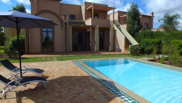Maison à vendre Marocain épuré Marrakech Golfs