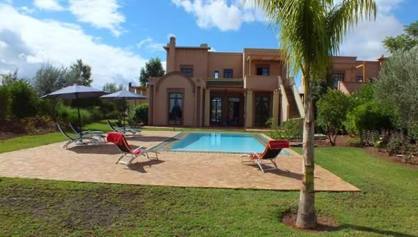 Villa à vendre Marocain épuré Marrakech Golfs