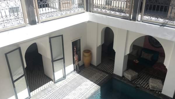 achat riad Moderne Marrakech moins de 10 minutes de la place Mouassine