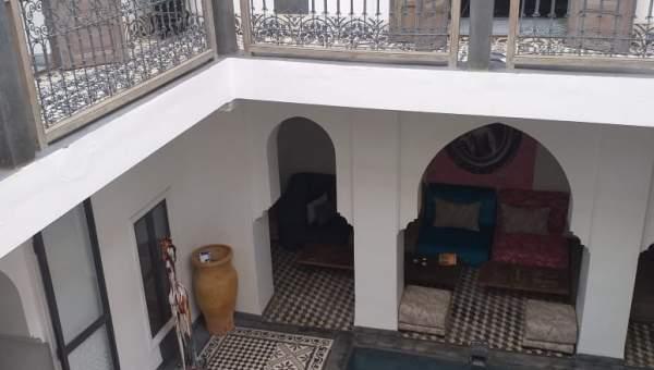 Vente riad Contemporain Marrakech moins de 10 minutes de la place Mouassine