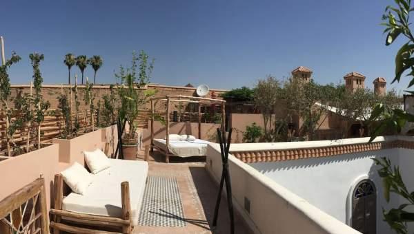 Vente riad Moderne Marrakech moins de 10 minutes de la place Mouassine