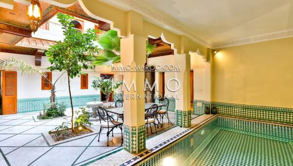 riad vente Marocain Marrakech Place Jamaa El Fna Riad Zitoun