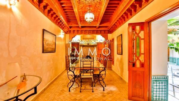 achat riad Marocain Marrakech Place Jamaa El Fna Riad Zitoun