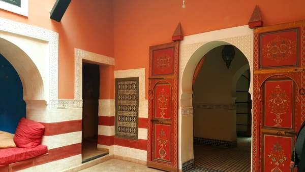 riad vente Marocain Marrakech Place Jamaa El Fna Ksour