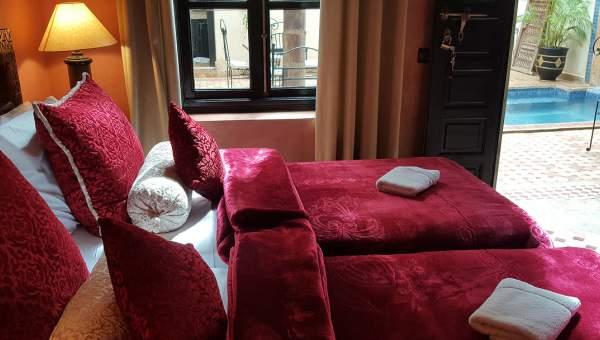 achat riad Marocain Marrakech moins de 10 minutes de la place Riad Laarous