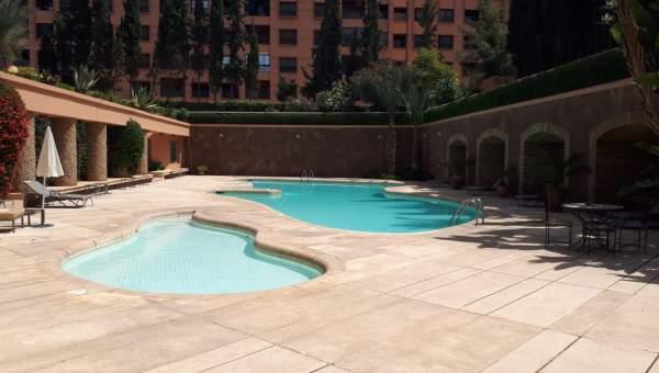 Appartement à vendre Marocain épuré Marrakech Hivernage Centre ville