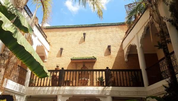 Riad à vendre Marocain épuré Marrakech Place Jamaa El Fna Dabachi